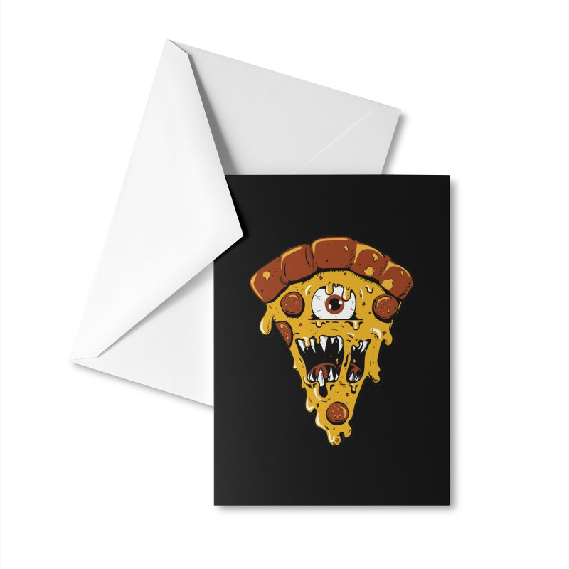 Monster Slice Accessories Greeting Card by James Zintel