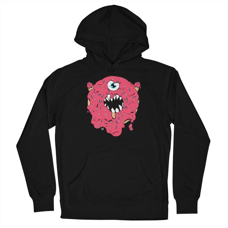 Demon Donut (pink) Women's Pullover Hoody by James Zintel