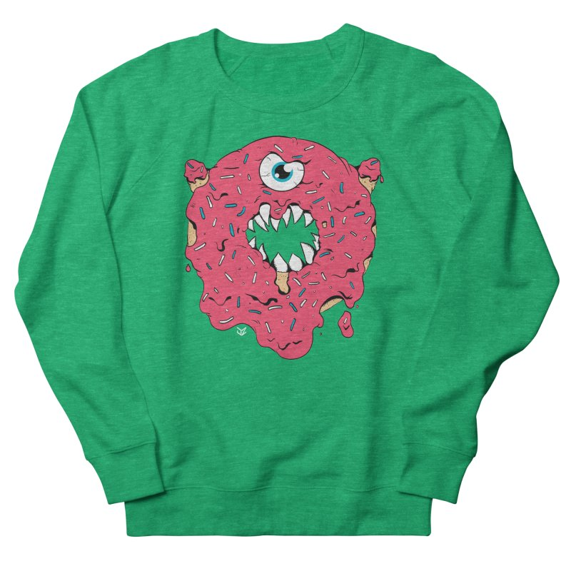 Demon Donut (pink) Women's Sweatshirt by James Zintel