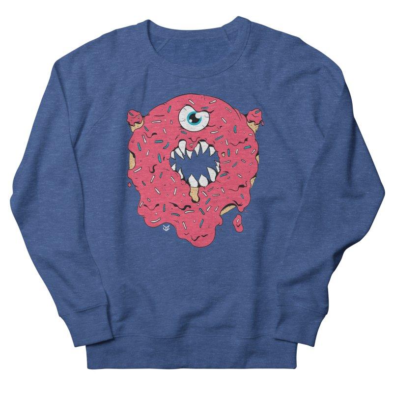 Demon Donut (pink) Men's Sweatshirt by James Zintel