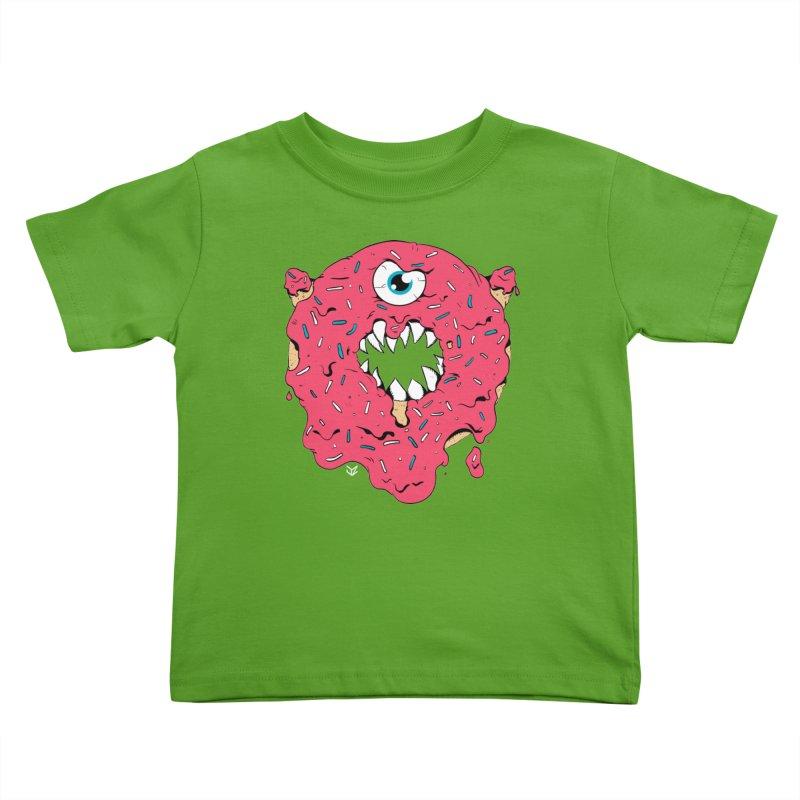 Demon Donut (pink) Kids Toddler T-Shirt by James Zintel