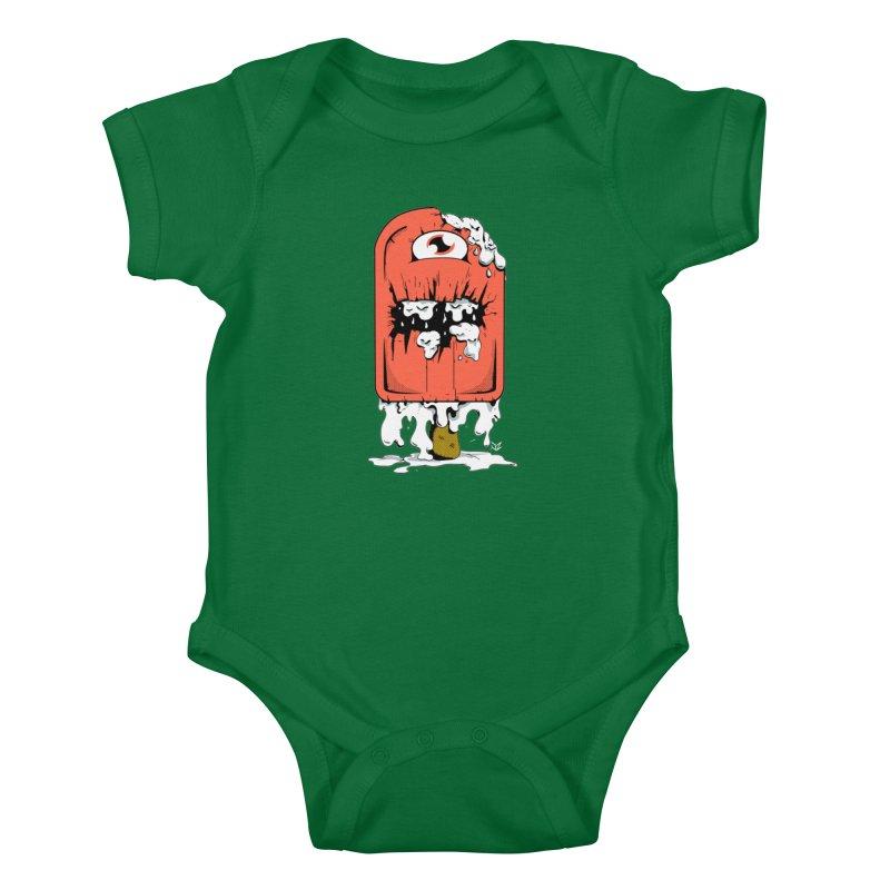 Screamsicle Kids Baby Bodysuit by James Zintel