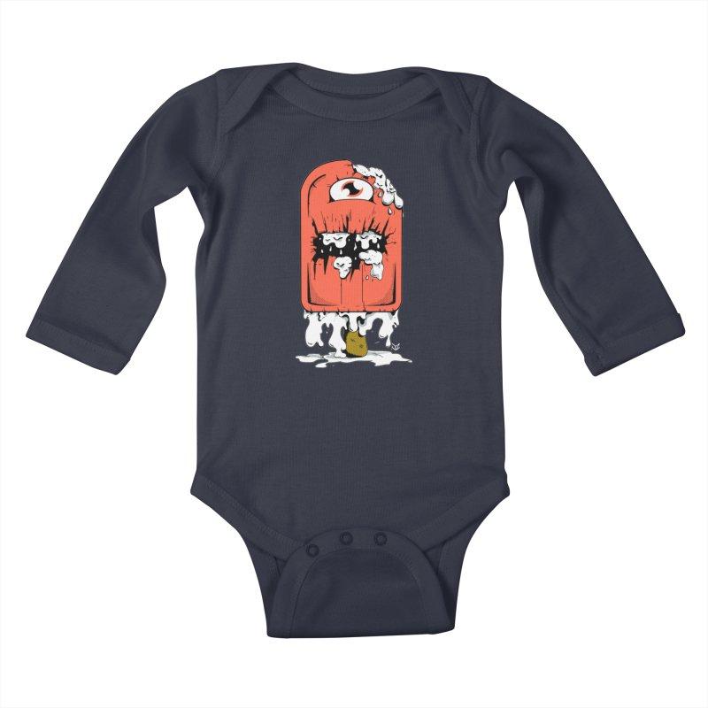 Screamsicle Kids Baby Longsleeve Bodysuit by James Zintel