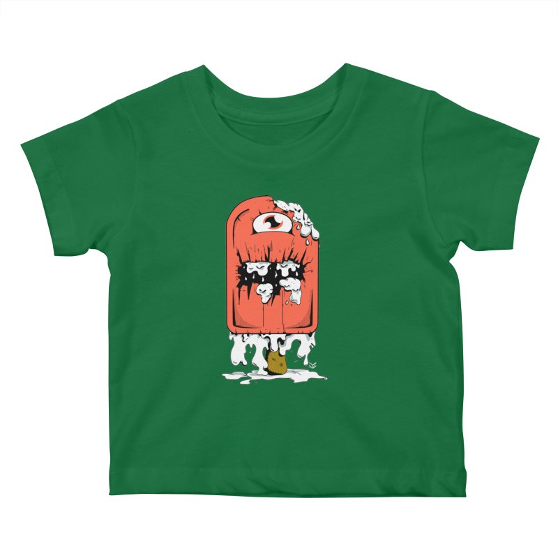 Screamsicle Kids Baby T-Shirt by James Zintel