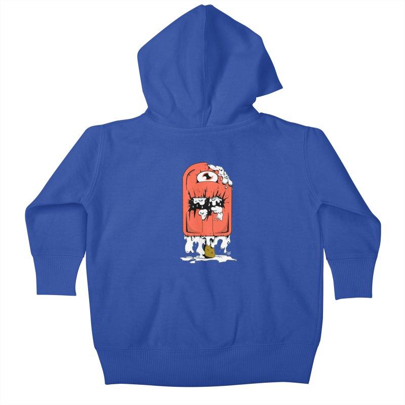 Screamsicle Kids Baby Zip-Up Hoody by James Zintel