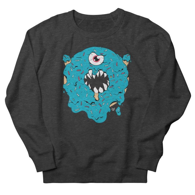 Demon Donut (blue) Women's Sweatshirt by James Zintel