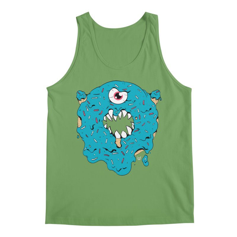 Demon Donut (blue) Men's Tank by James Zintel
