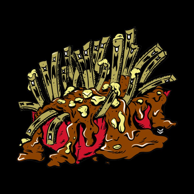 Poutine of Evil Men's T-Shirt by James Zintel