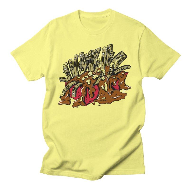Poutine of Evil Men's T-Shirt by James Zintel