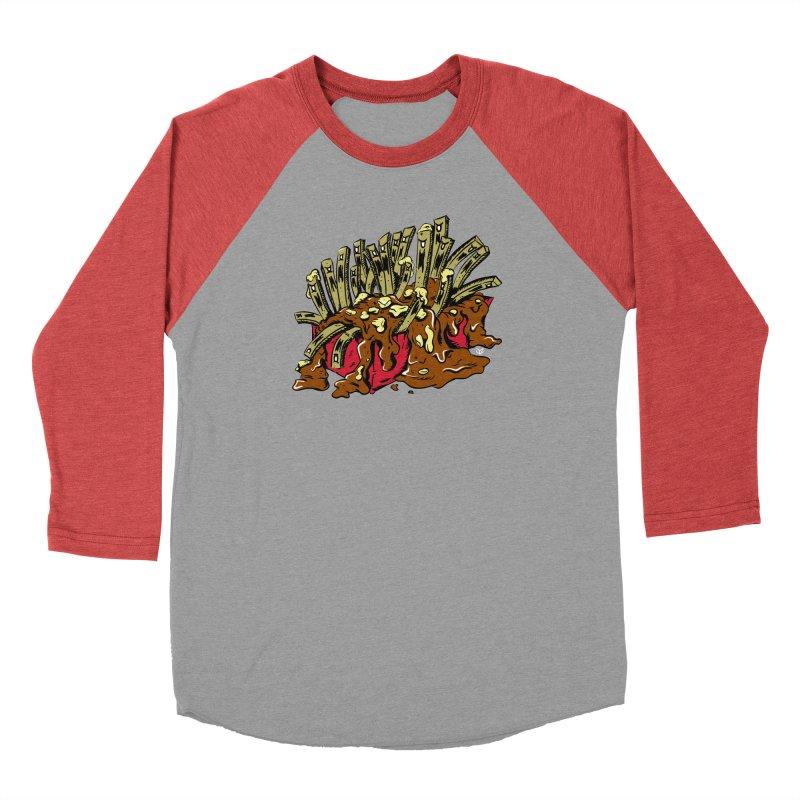Poutine of Evil Men's Longsleeve T-Shirt by James Zintel