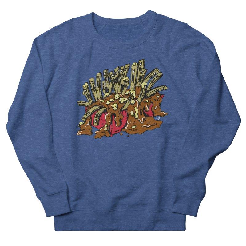 Poutine of Evil Men's Sweatshirt by James Zintel