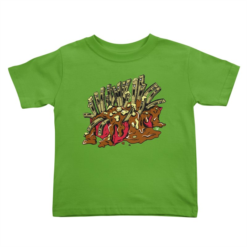 Poutine of Evil Kids Toddler T-Shirt by James Zintel