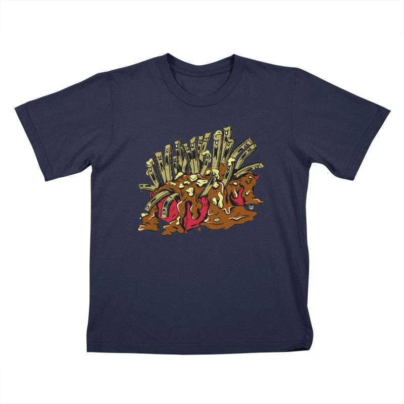 Poutine of Evil Kids T-Shirt by James Zintel