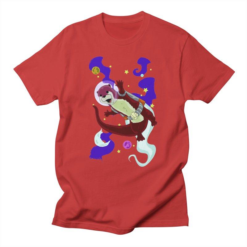 Otter Space Men's T-Shirt by James Zintel