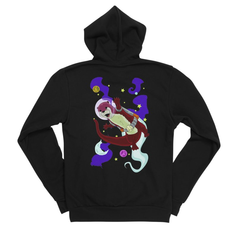 Otter Space Men's Zip-Up Hoody by James Zintel