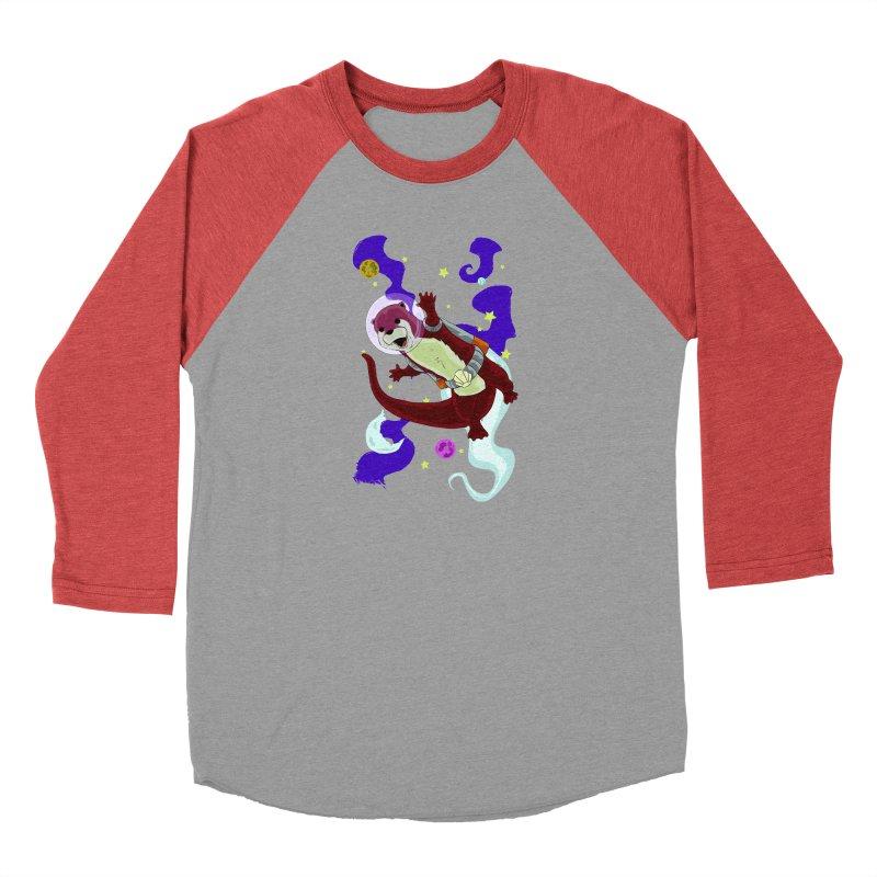 Otter Space Men's Longsleeve T-Shirt by James Zintel