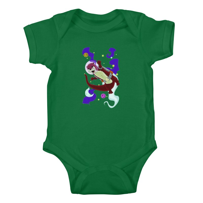 Otter Space Kids Baby Bodysuit by James Zintel