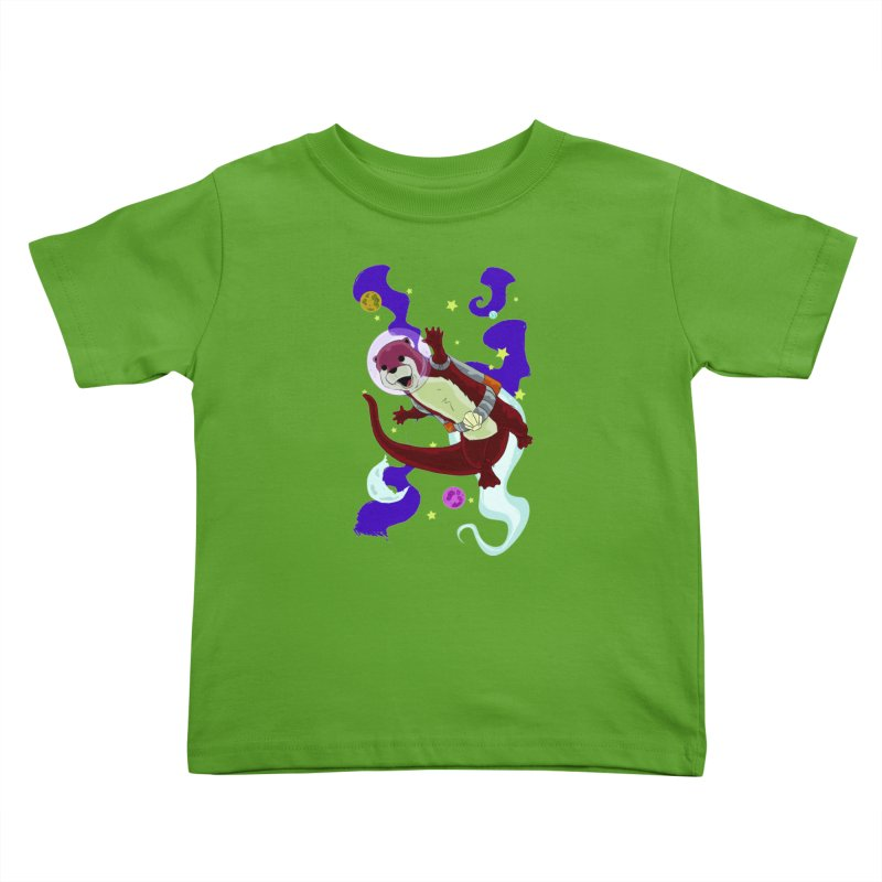 Otter Space Kids Toddler T-Shirt by James Zintel