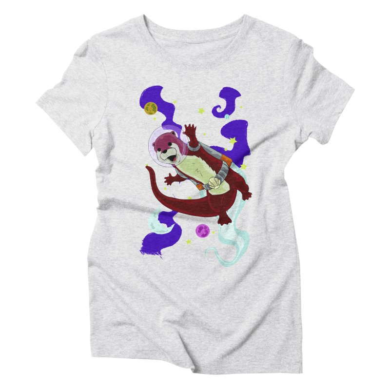 Otter Space Women's T-Shirt by James Zintel