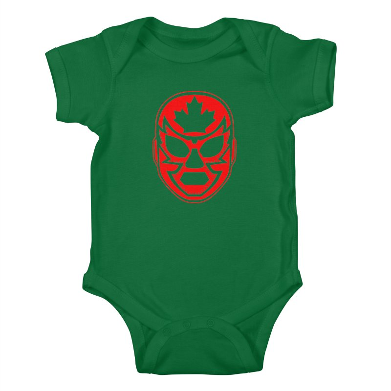 Luchanada Kids Baby Bodysuit by James Zintel