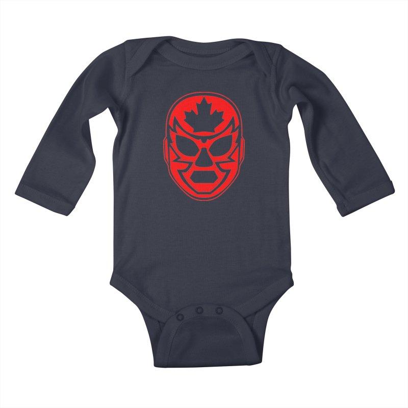 Luchanada Kids Baby Longsleeve Bodysuit by James Zintel