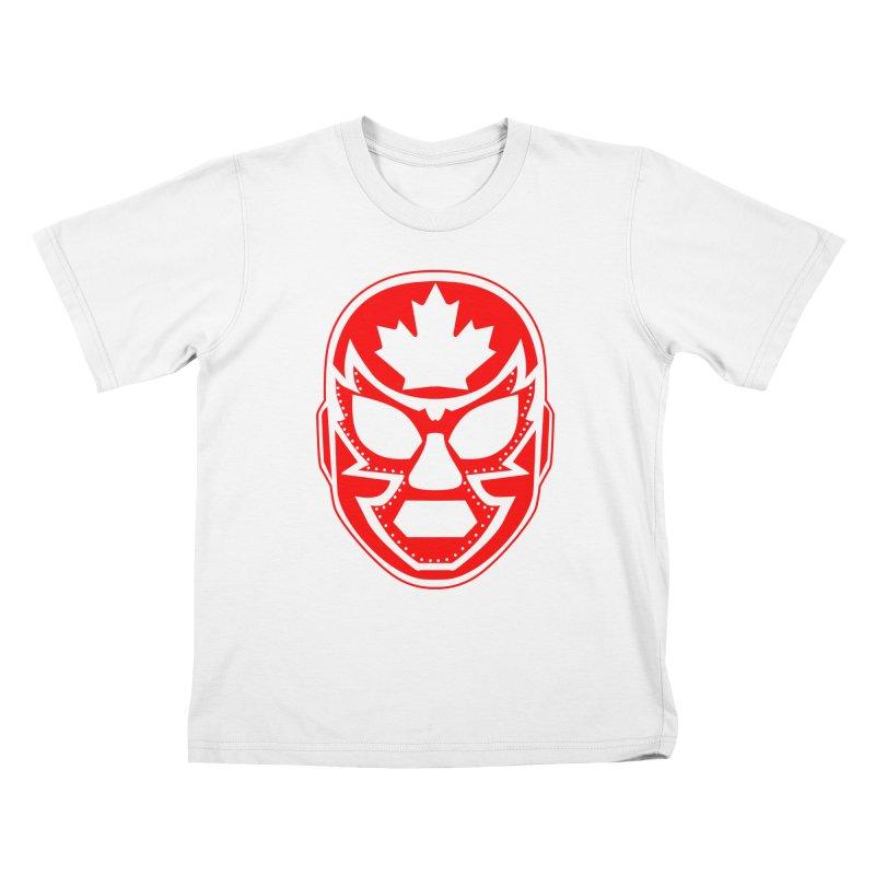 Luchanada Kids T-Shirt by James Zintel