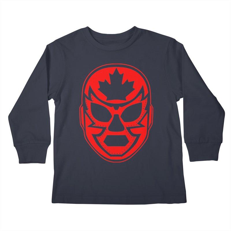 Luchanada Kids Longsleeve T-Shirt by James Zintel