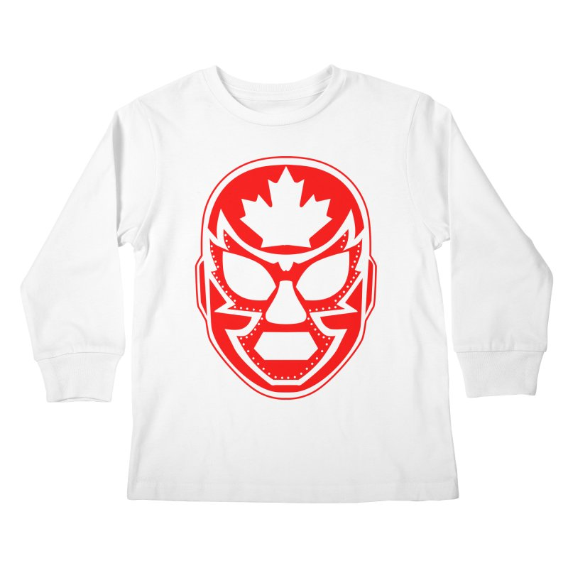 Luchanada Kids Longsleeve T-Shirt by James Zintel