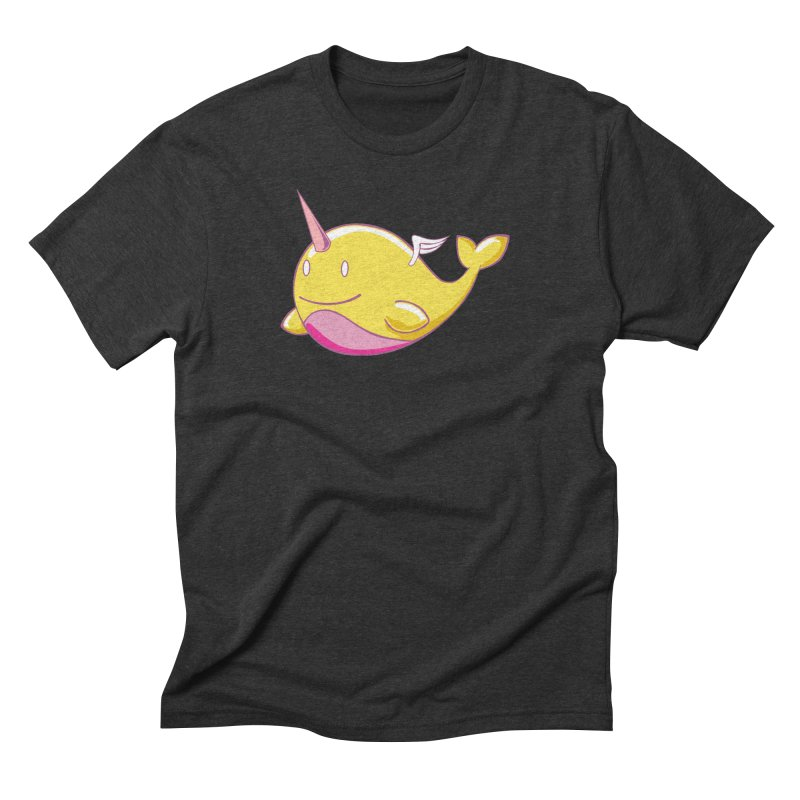 Adorablwhales - Narwhallace Men's T-Shirt by James Zintel