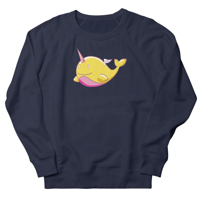 Adorablwhales - Narwhallace Men's Sweatshirt by James Zintel