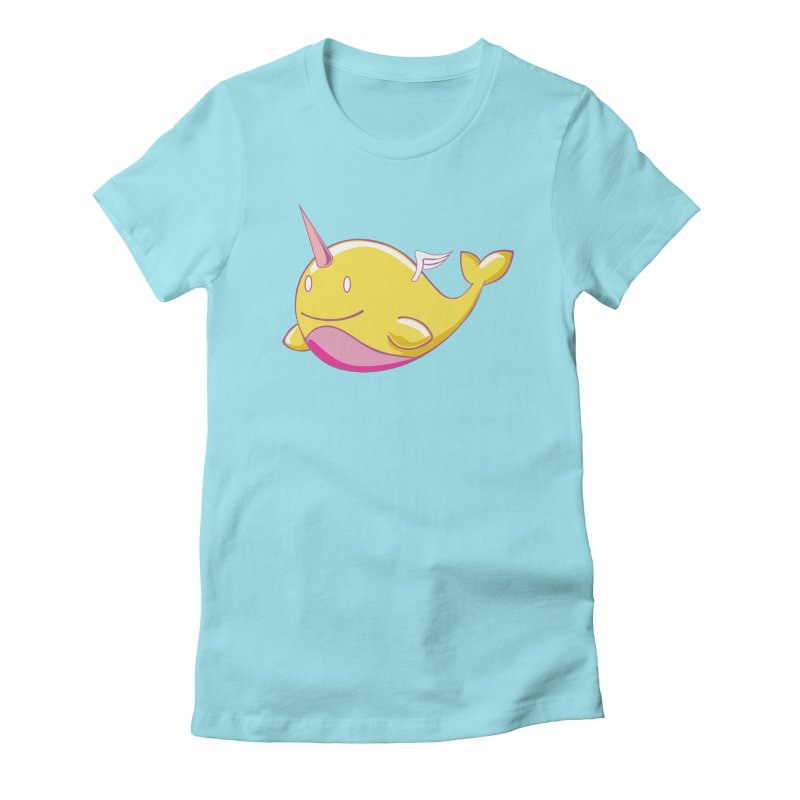 Adorablwhales - Narwhallace Women's T-Shirt by James Zintel