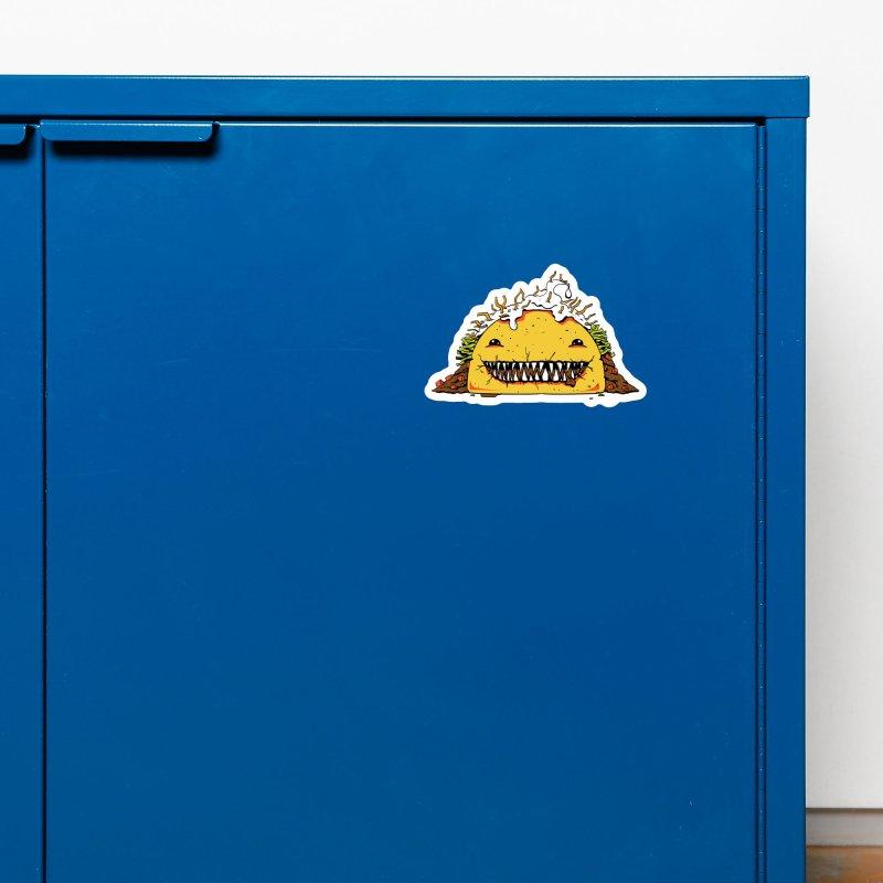 Terror Taco Accessories Magnet by James Zintel
