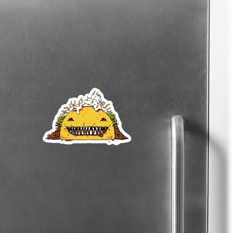 Terror Taco Accessories Magnet by James Zintel