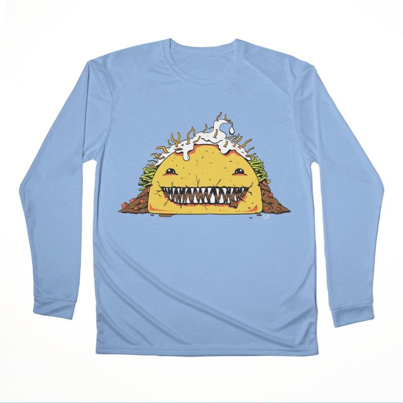 Terror Taco Men's Longsleeve T-Shirt by James Zintel