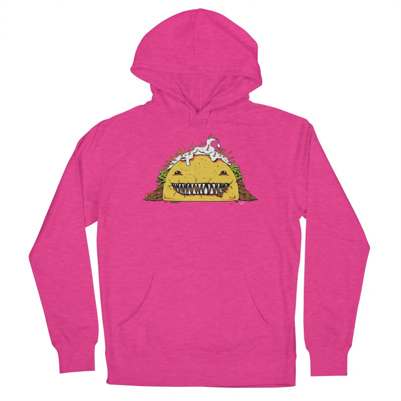 Terror Taco Men's Pullover Hoody by James Zintel