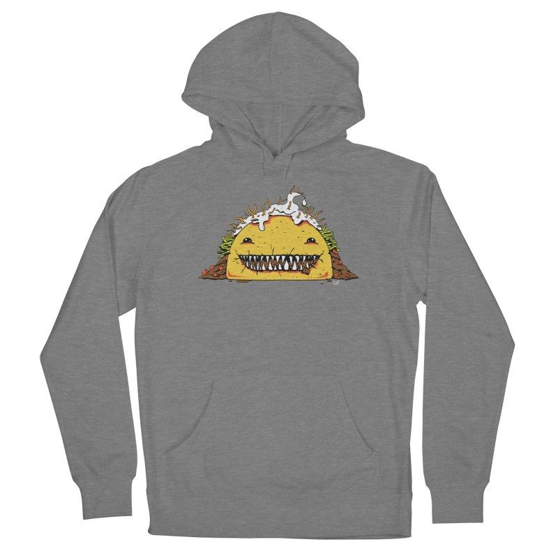Terror Taco Men's Pullover Hoody by James Zintel