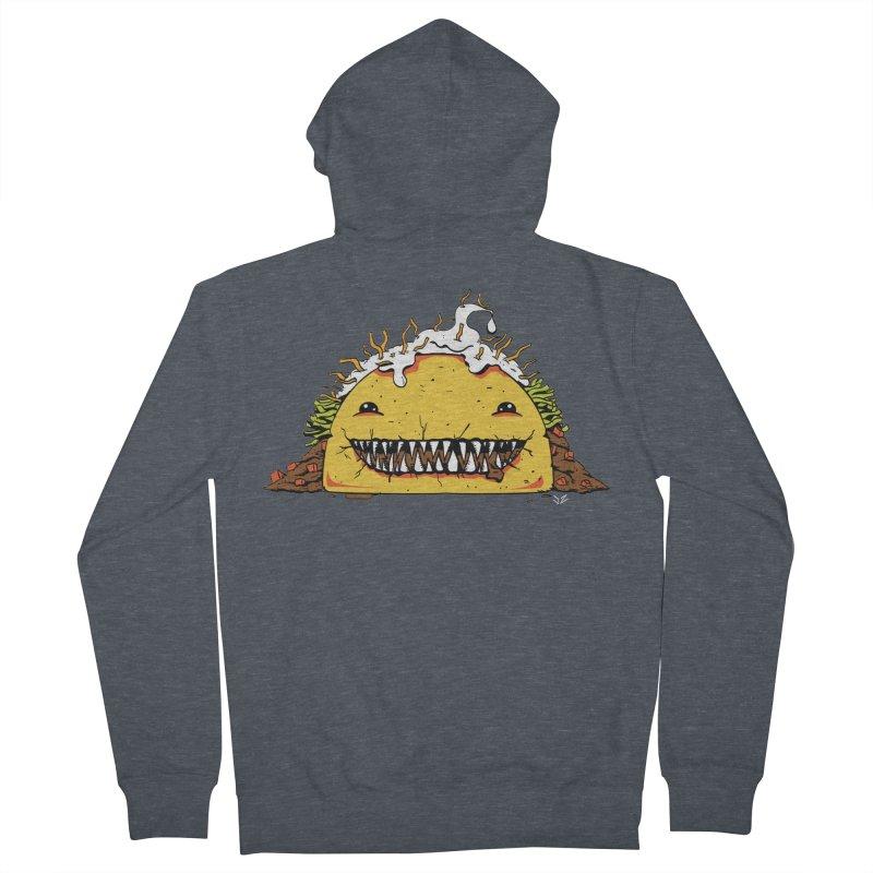 Terror Taco Men's Zip-Up Hoody by James Zintel