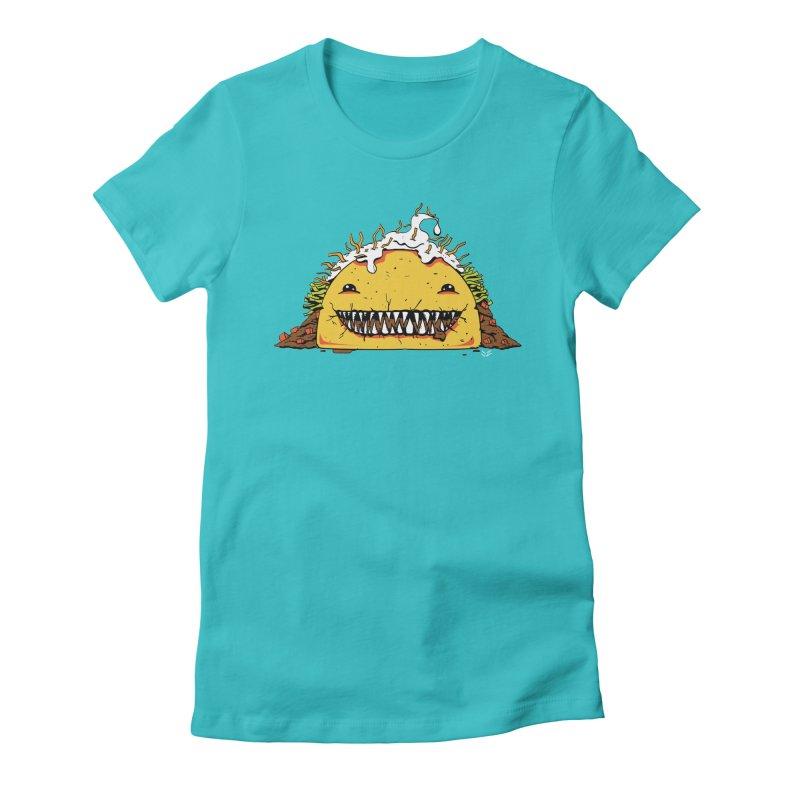 Terror Taco Women's T-Shirt by James Zintel