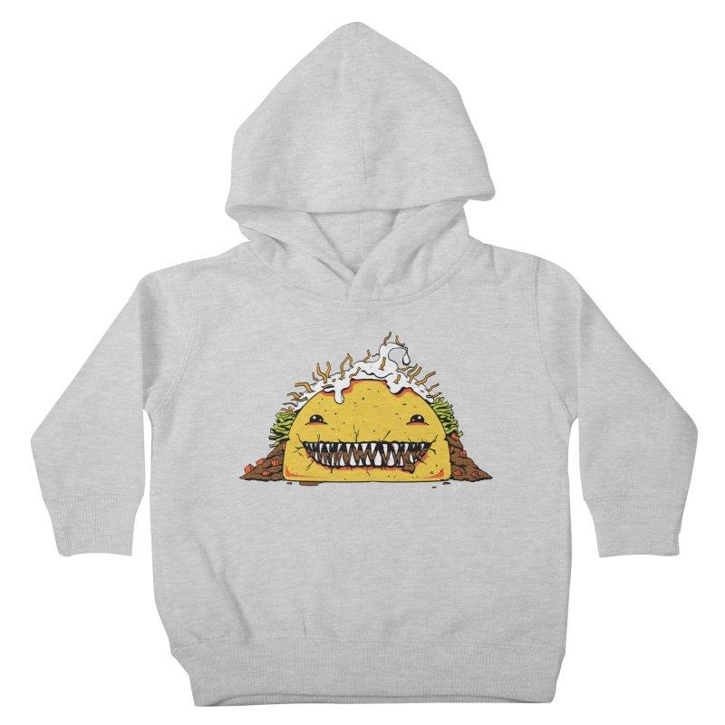 Terror Taco Kids Toddler Pullover Hoody by James Zintel