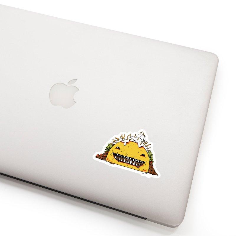Terror Taco Accessories Sticker by James Zintel