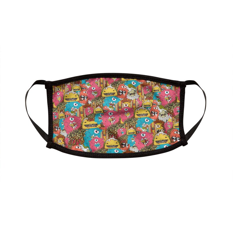 Eatures Pattern Accessories Face Mask by James Zintel