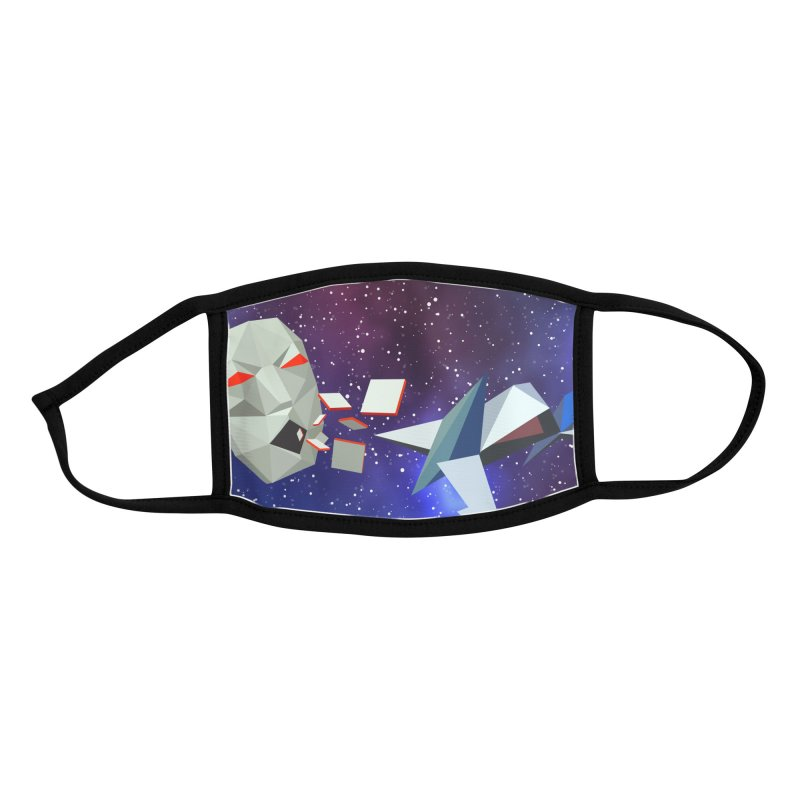 Astro Face Accessories Face Mask by James Zintel