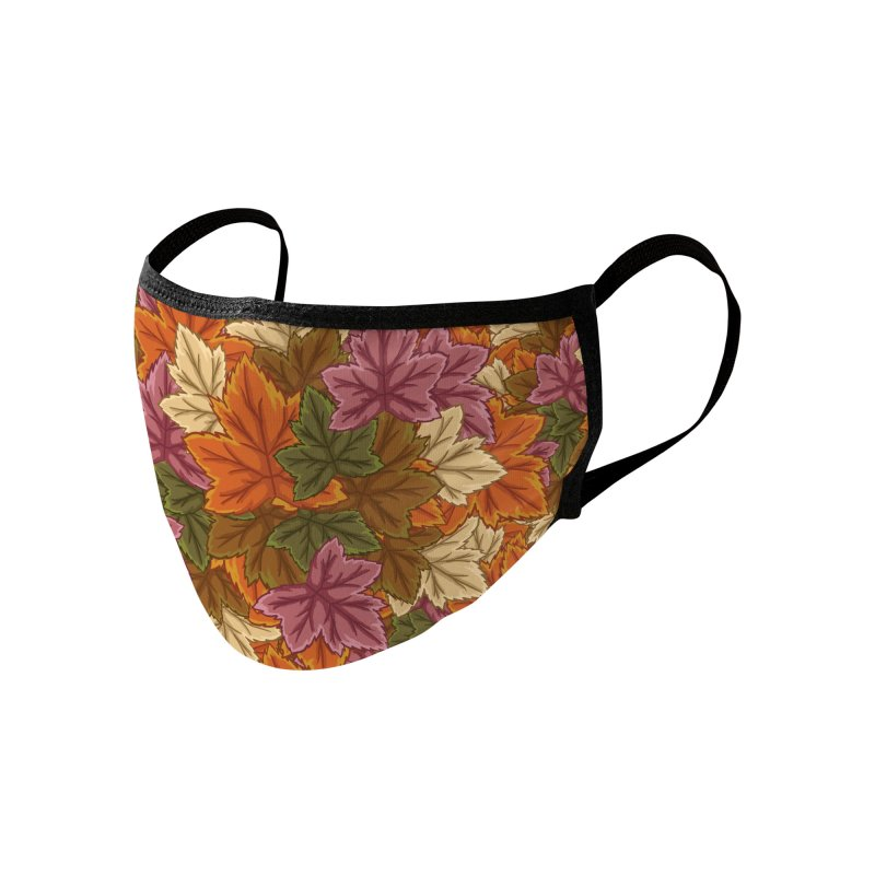 Autumn Leaves Accessories Face Mask by James Zintel