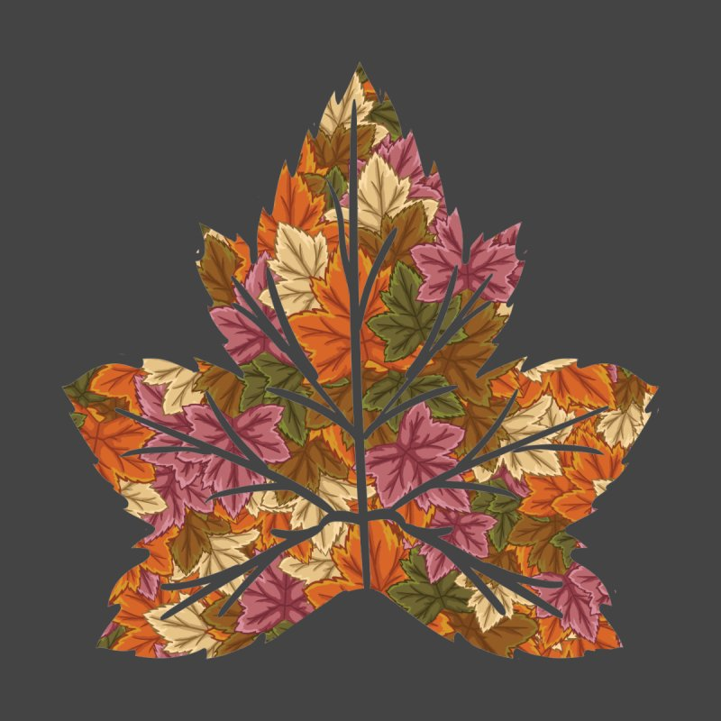 Autumn Leaves Men's T-Shirt by James Zintel