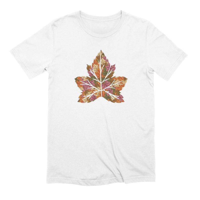 Autumn Leaves Men's T-Shirt by James Zintel