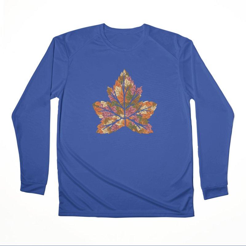 Autumn Leaves Women's Longsleeve T-Shirt by James Zintel