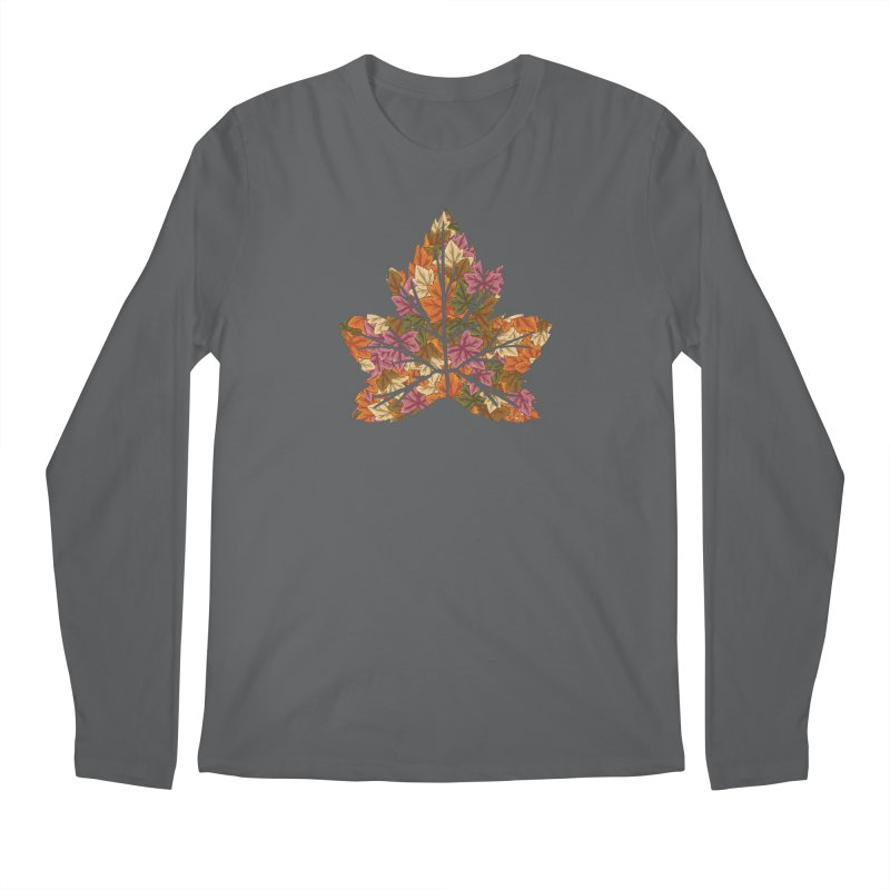 Autumn Leaves Men's Longsleeve T-Shirt by James Zintel