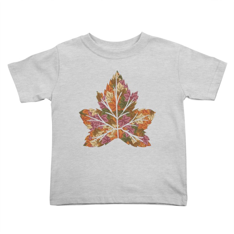 Autumn Leaves Kids Toddler T-Shirt by James Zintel