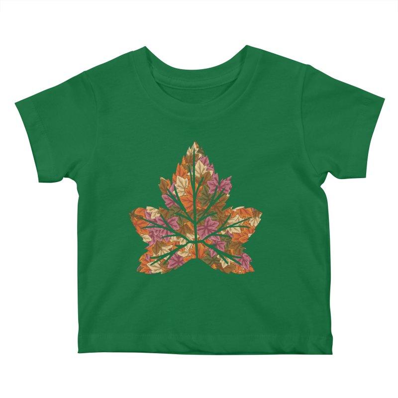 Autumn Leaves Kids Baby T-Shirt by James Zintel
