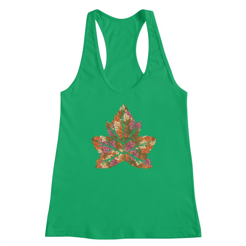 Autumn Leaves Women's Tank by James Zintel